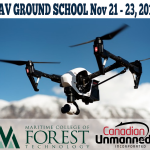 MCFT's Unmanned Aerial Vehicles Ground School Workshop Nov 21-23 in Fredericton