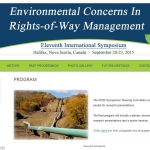 AGM 2015 – Environmental Concerns in Rights-of-Way Management